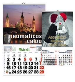 Nuevos calendarios de pared publicitarios