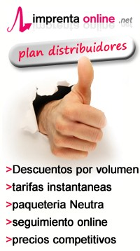 Plan Distribuidores en Imprenta online