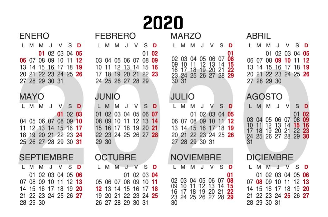 Calendario Bolsillo marron