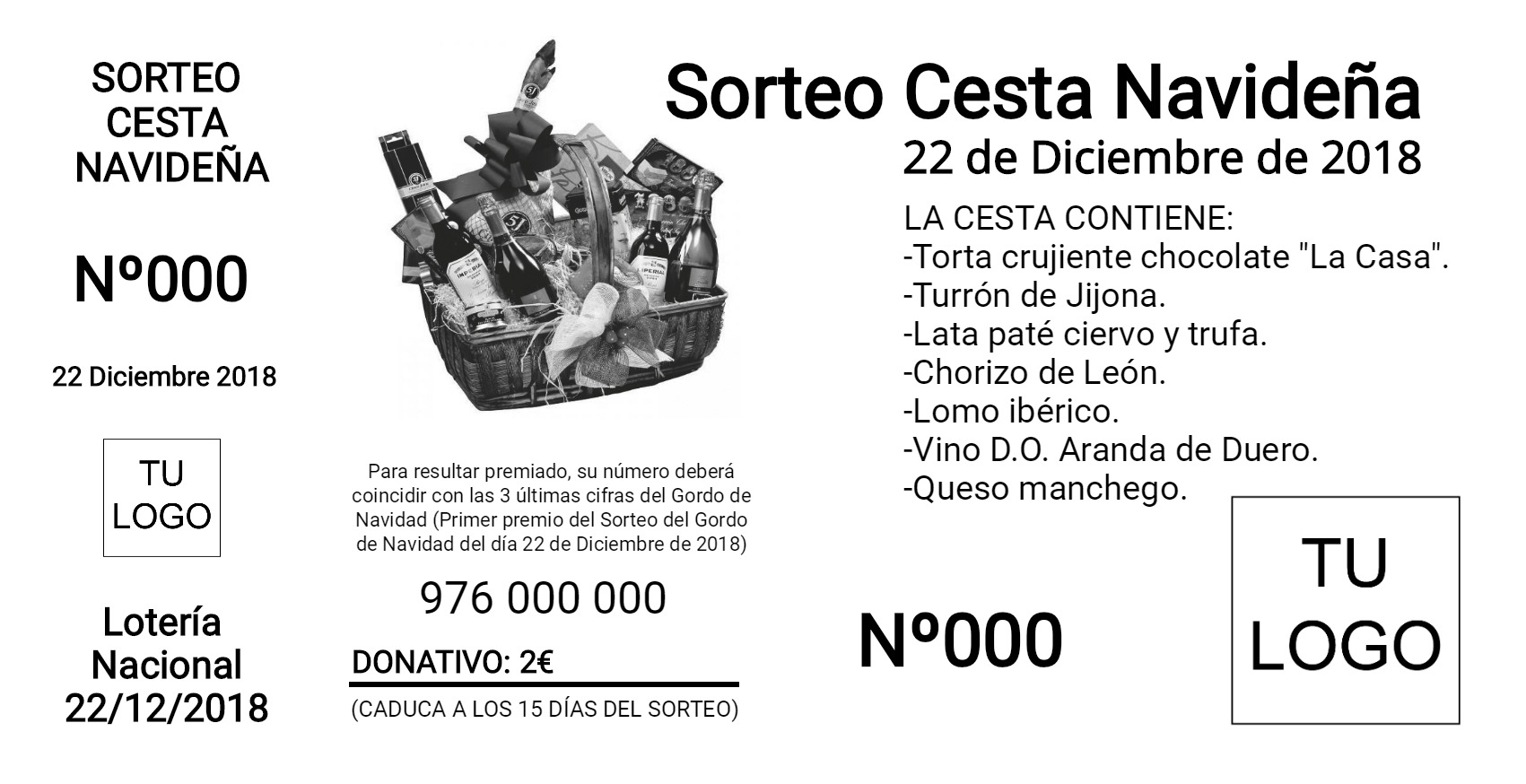 Sorteo Cesta 14x7